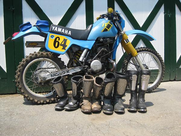 Engine Full Complete Gasket Set H 1980-1981 Yamaha YZ 465 G